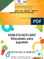 NOM 015 Y 017
