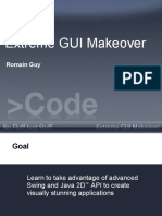Extreme GUI Makeover - Romain Guy