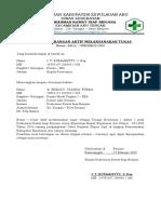 Surat Keterangan Aktif Melaksanakan Tugas