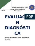Evaluación Diagnóstica RS y DS