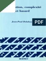Jean-Paul Delahaye - Information, complexité et hasard-Hermès (1994)