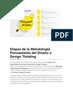 Etapas de la Metodología Pensamiento del Diseño o Design Thinking.docx