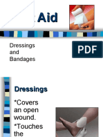 first aid 6 dsg bandages