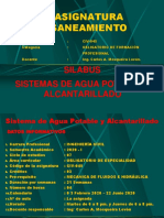 CLASE 1 PRESENTACION DE SILABUS  SEMANA 1 2020 I