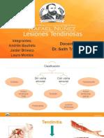 Lesiones Tendinosas FINALES
