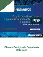 - manutenção Engenharia - registro de preço