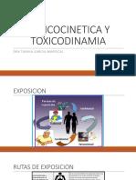 TOXICOCINETICA Y TOXICODINAMIA