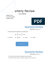 Quarterly Review 1