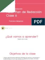 CLASE N°6 DE PLAN DE REDACCIÓN