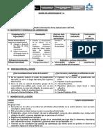 SESIÓN DE APRENDIZAJE PRODUCIMOS DESCRIPCION DE ANIMALES.docx
