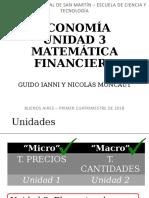 UNSAM - Economia - 2019 - Calculo financiero
