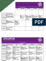 Programa del I Congreso Internacional Social Media MX