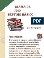 Programa 7º básico
