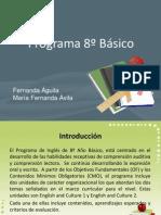 programa 8º básico