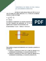 Cálculo de la resistencia de tierra de una varilla vertical con cemento conductivo