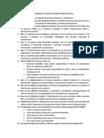 CUESTIONARIO DE TALENTO HUMANO PRIMER PARCIAL