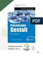 (1) Acercamiento al origen de la psicoterapia Gestalt