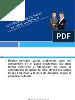 5.- Los problemas de mano de obra en méxico