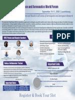 Aerospace and Aeronautics World Forum