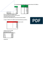 DCF - Questions