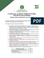 Edital de PROJETOS 2020 - Retificacao1