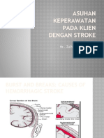Asuhan keperawatan pada klien dengan stroke
