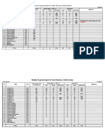 Progress Table_Steel Erection