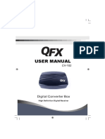 DECODIFICADOR QFX CV-102 Manual