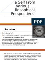 The Self From Various Philosophical Perspectives.pptx