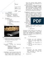 002. lesson plan for cw types of drama