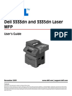Dell 3335 Printer User Guide