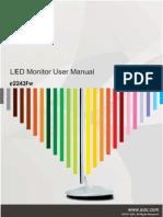 LG W2486 Monitor | Computer Monitor | Media Technology