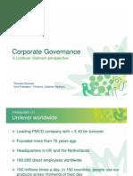 Corporate Governance - Unilever_08.07.08