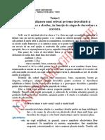 Tema 1-Referat pe baza dezvoltarii si functionarii psihice a elevei  J.N.
