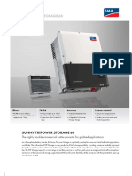 The highly flexible commercial battery inverter for grid-tied applications