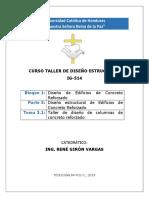 Taller de diseño de columnas de CR