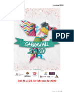 Carnavall 2020 dossier