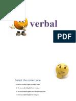 verbal ppt