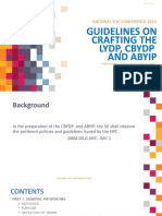 GUIDELINES ON CRAFTING THE LYDP, CBYDP