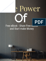 The Power of eBook to Start Make Money Online Fast