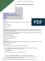 Oracle WebLogic Server 12c_ Using the WebLogic Scripting Tool.pdf