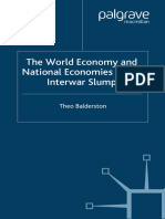 Theo Balderston - The World Economy and National Economies in the Interwar Slump (2003)