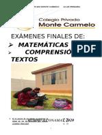 EXÁMENES FINALES DE_1ro