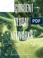 Deep Learning_ Recurrent Neural Networks in Python_ LSTM, GRU, and more RNN machine learning architectures in Python and Theano (Machine Learning in Python) ( PDFDrive.com )