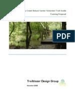 Sandy Creek Nature Center Volunteer Trail Guide Training Proposal