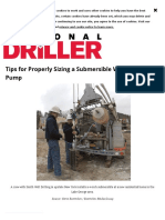 Tips for Properly Sizing a Submersible Water Well Pump _ 2019-04-08 _ National Driller