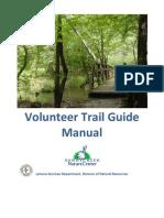 Sandy Creek Nature Center Volunteer Trail Guide Training Manual