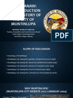 Balik-tanaw_a Brief History of Muntinlupa City