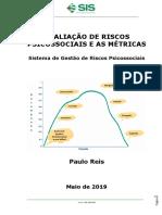 Avaliação de riscos psicossociais e as métricas - ebook