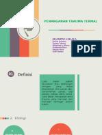 PPT Penanganan Trauma Termal Kel. 6 Kelas A.pptx